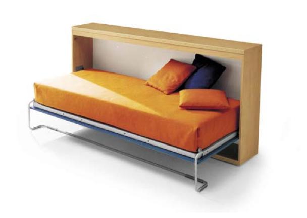 Divani letti a scomparsa le ultime idee sulla casa e sul for Ikea letto ribaltabile