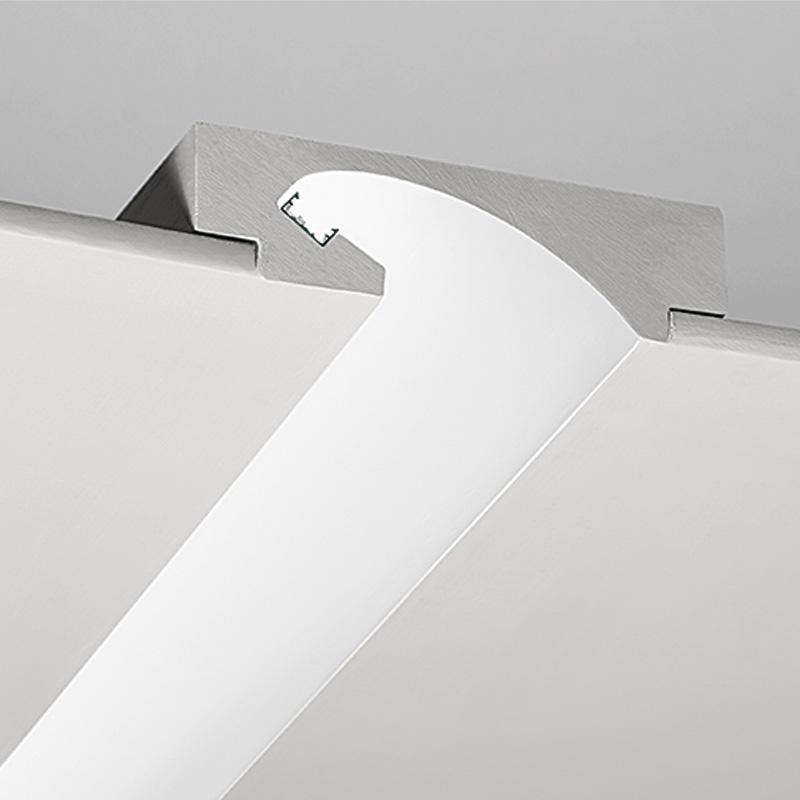 Profili in gesso n p2 l 39 arredatheta for Sistemi di illuminazione led